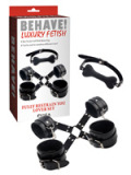 Behave! Luxury Fetish - Bondage & Fessel Set