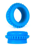 Burning Wheels 100% Silikon Cockring CK09 Blau