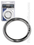 Push Steel - High Polished Power Cockring - 8mm