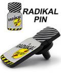 Radikal Rush Poppers Anstecker